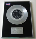 PETER AND GORDON - A WORLD WITHOUT LOVE PLATINUM single presentation DISC